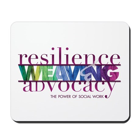 Weaving Resilience and Advocacy Mousepad