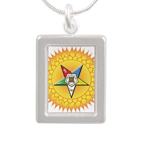 OES In the Sun Silver Portrait Necklace
