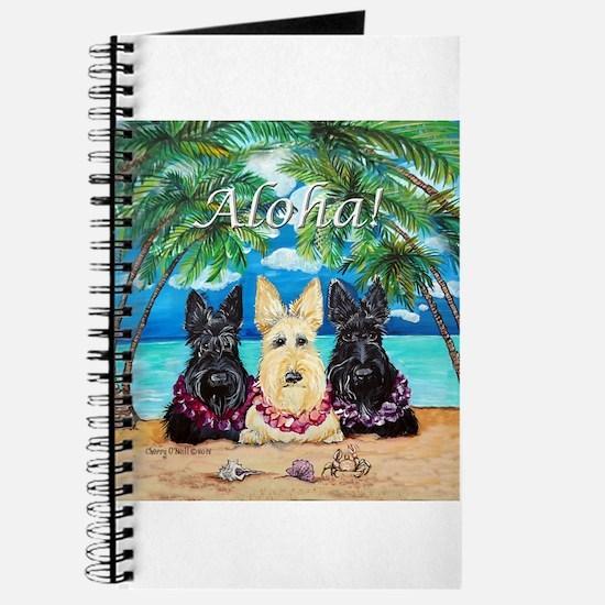 Scottish Terrier Aloha Paradise! Journal