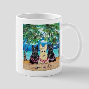 Scottish Terrier Aloha Paradise! Mug