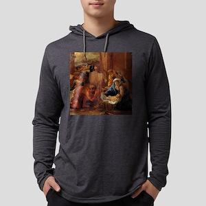 5x5 Mens Hooded Shirt