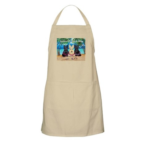 Paradise Scottish Terrier Apron
