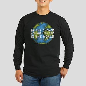 Be the Change - Earth - Green Vine Long Sleeve Dar