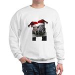 Christmas Horses In Love Sweatshirt
