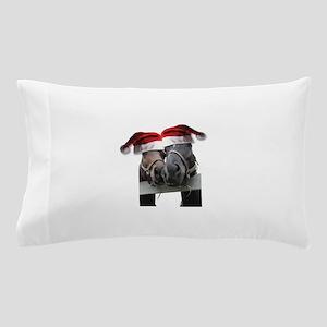 Christmas Horses In Love Pillow Case