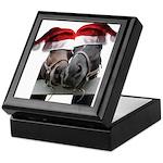 Christmas Horses In Love Keepsake Box