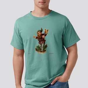 Gnome With Pet Mens Comfort Colors Shirt