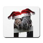 Christmas Horses In Love Mousepad