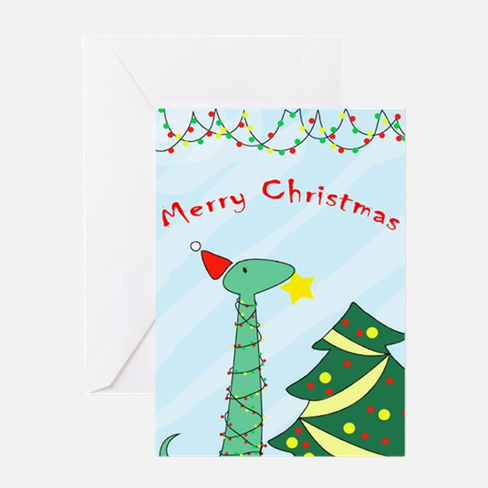 Tree Topper by T. Williams Greeting Card