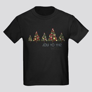 Joy To The World Kids Dark T-Shirt