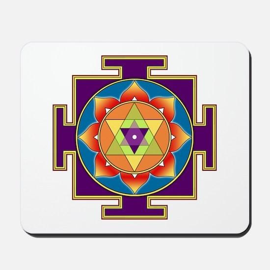 Sri Ganesha Yantra Mousepad