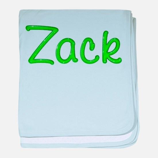 Zack Glitter Gel baby blanket