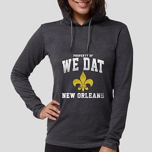 We Dat -dk Womens Hooded Shirt