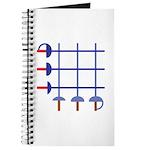 Fencing Sword Grid Journal