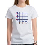 Fencing Sword Grid Women's T-Shirt