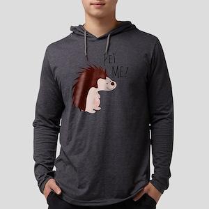 Pet Me Mens Hooded Shirt
