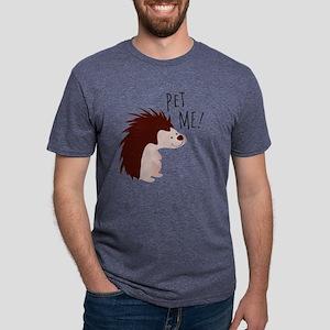 Pet Me Mens Tri-blend T-Shirt
