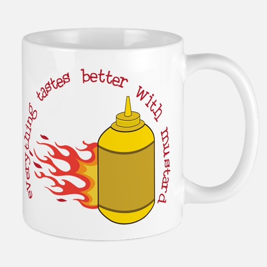 Better With Mustard Mug
