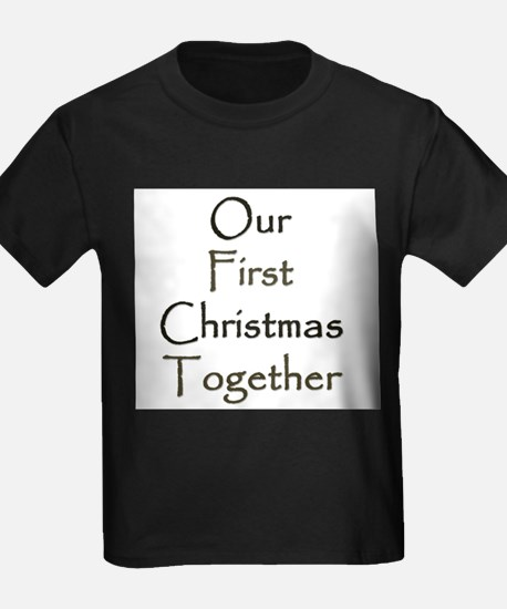 Our First Christmas Together T