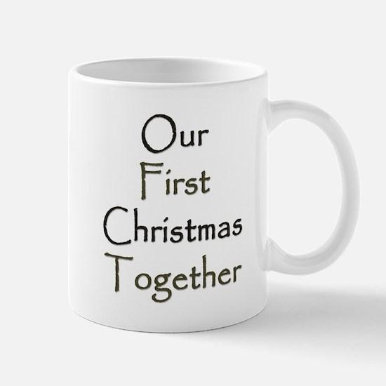 Our First Christmas Together Mug