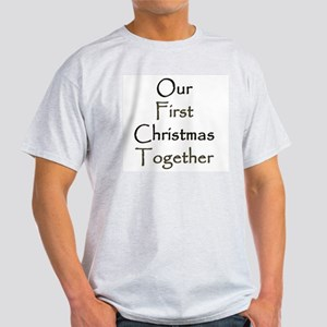 Our First Christmas Together Light T-Shirt