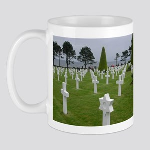 American Cemetery Mug