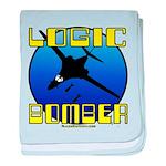 Logic Bomber 2 baby blanket