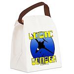 Logic Bomber 2 Canvas Lunch Bag