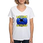 Logic Bomber 2 Women's V-Neck T-Shirt