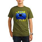 Logic Bomber 2 Organic Men's T-Shirt (dark)