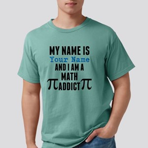 Math Addict Mens Comfort Colors Shirt
