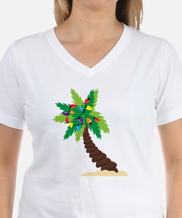 Christmas Palm Tree Shirt