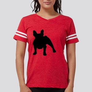 French Bulldog Shadow Womens Football Shirt