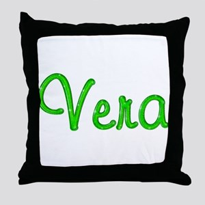 Vera Glitter Gel Throw Pillow