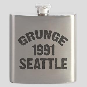 SEATTLE 1991 GRUNGE Flask