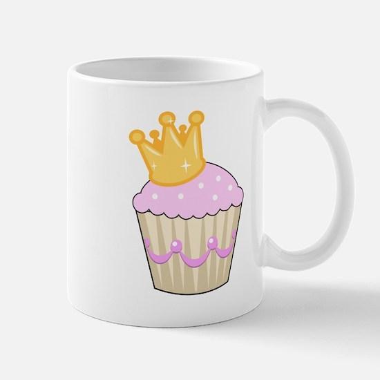 cucpake with crown Mug