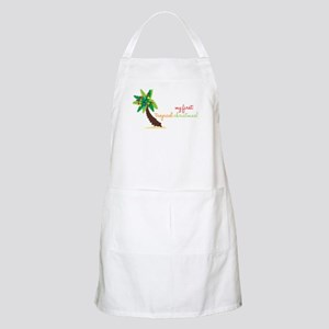 First Tropical Christmas Apron