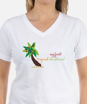 First Tropical Christmas Shirt