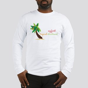 First Tropical Christmas Long Sleeve T-Shirt