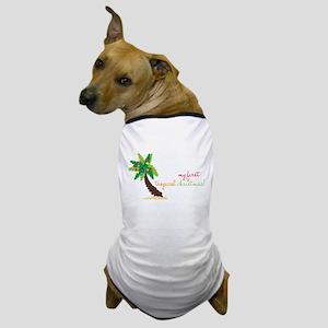 First Tropical Christmas Dog T-Shirt
