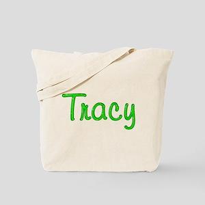 Tracy Glitter Gel Tote Bag