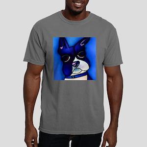 Blue Boston tile Mens Comfort Colors Shirt
