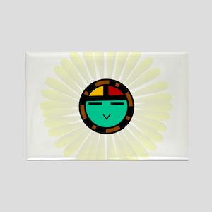 Native American Sun God Rectangle Magnet