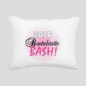 2016 Bachelorette Bash Rectangular Canvas Pillow