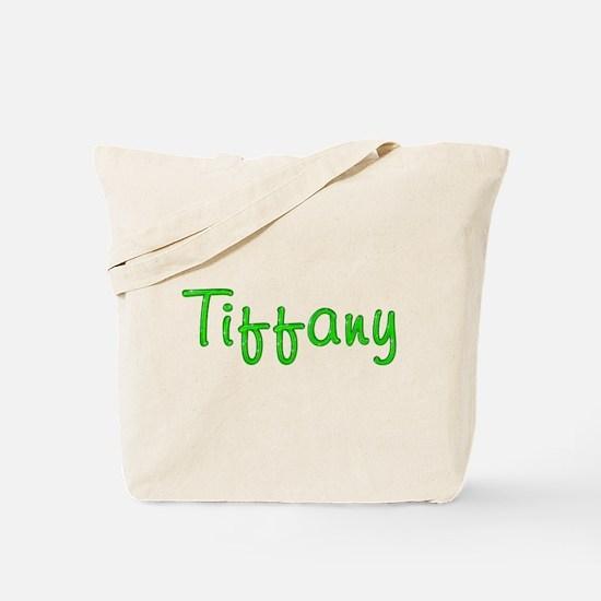 Tiffany Glitter Gel Tote Bag
