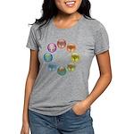 2-treewheel_4x4.png Womens Tri-blend T-Shirt