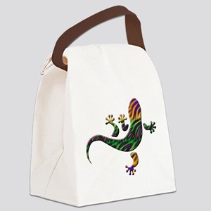 Cool Gecko 2 Canvas Lunch Bag