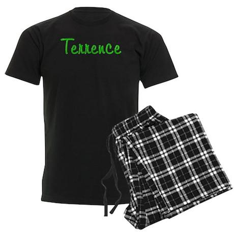 Terrence Glitter Gel Men's Dark Pajamas