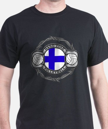 Finland Volleyball T-Shirt
