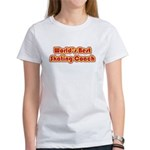 Worlds Best Skating Coach Women's T-Shirt